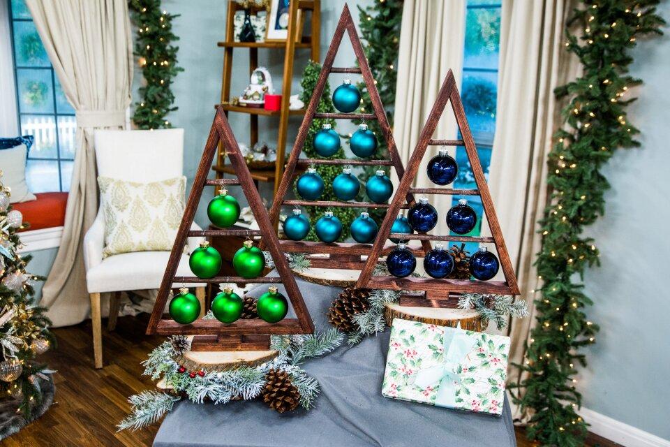 DIY Wooden Ornament Tree