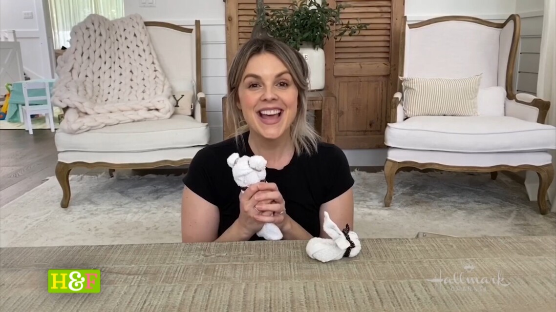 At Home With Our Family - Ali's DIY Bunny & Teddy Bear Wash Cloths