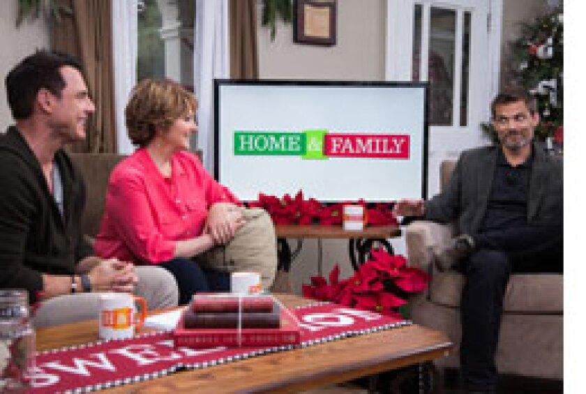Today on Home & Family: Casper Van Dien