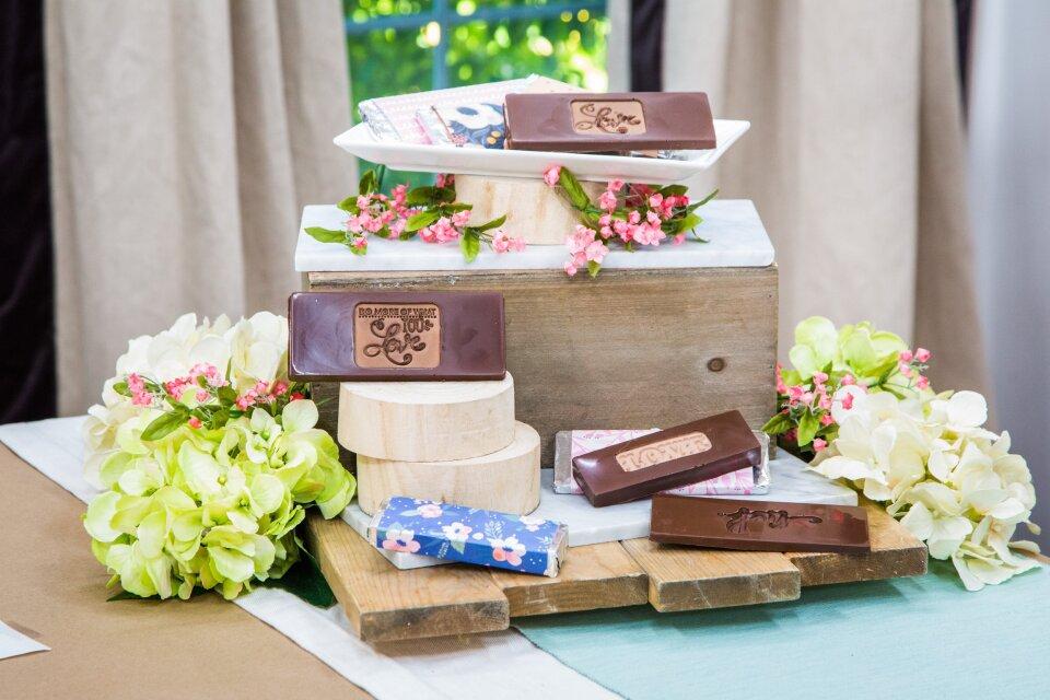 Amber Kemp DIY Stamped Chocolate Bars