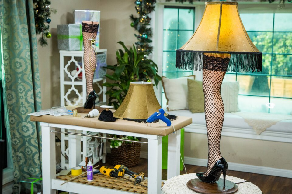 DIY Leg Lamp