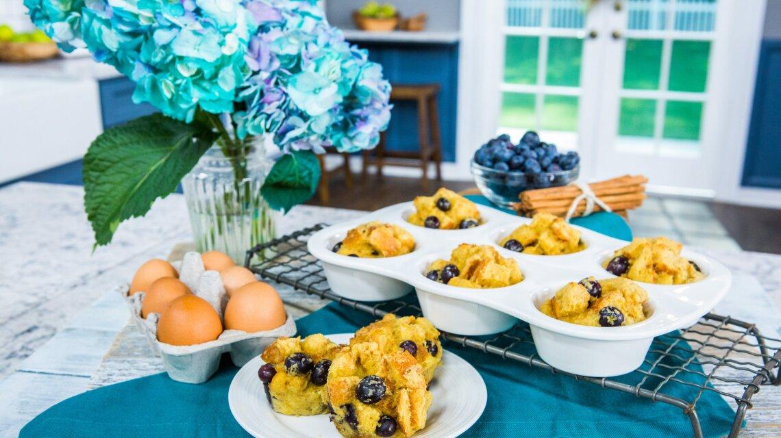 Kelly Senyei - Blueberry French Toast Muffins