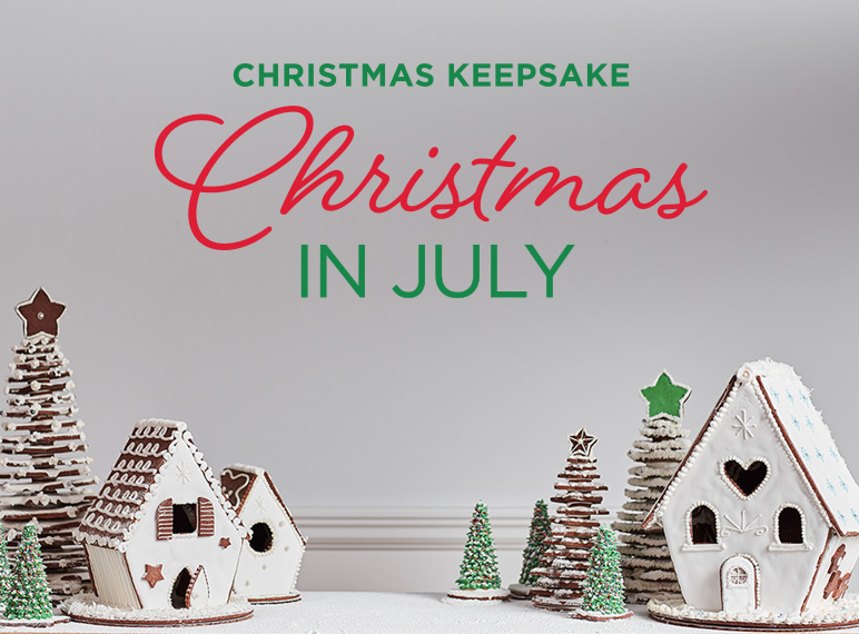 Christmas In July Schedule 2020 Christmas in July   Christmas Keepsake Week
